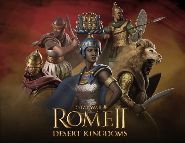 Total War Rome II  Desert Kingdoms (steam key) -- RU