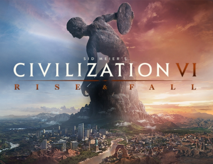 Sid Meiers Civilization VI Rise and Fall (steam) -- RU