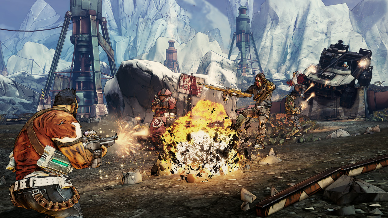 Borderlands 2 (steam key) -- RU