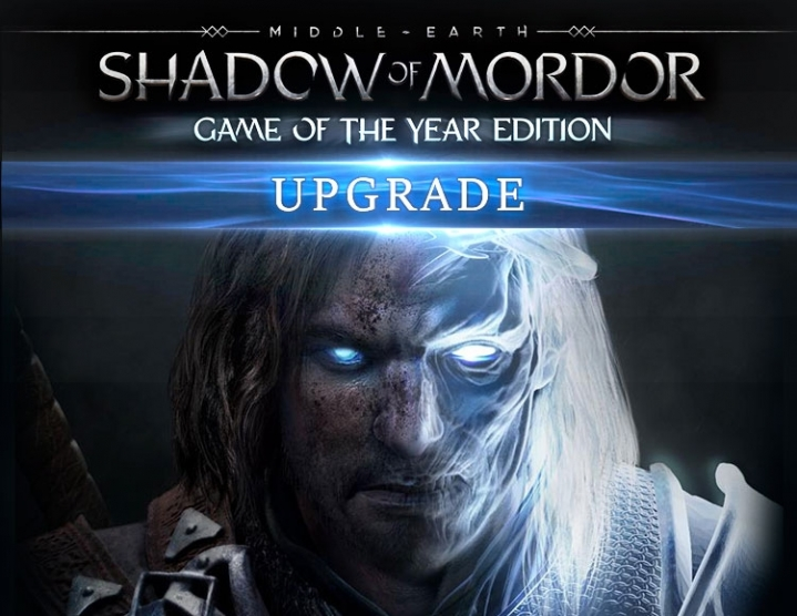 Shadow of Mordor GOTY Upgrade (Steam) -- Region free