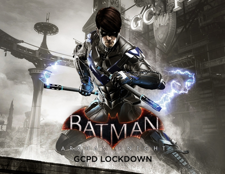 Batman Arkham Knight GCPD Lockdown (Steam key) -- RU