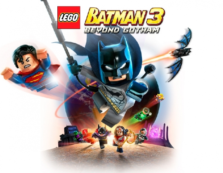 LEGO Batman 3 Beyond Gotham (steam key) -- RU