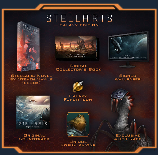 Stellaris  Galaxy Edition (steam key) -- RU
