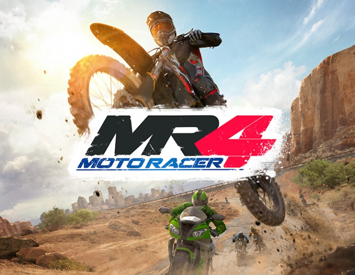 Moto Racer 4 (steam key) -- RU
