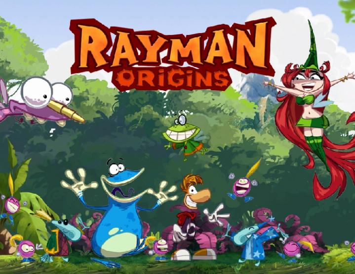 Rayman Origins (uplay key) -- RU