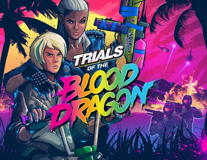 Trials of the Blood Dragon (uplay key) -- RU