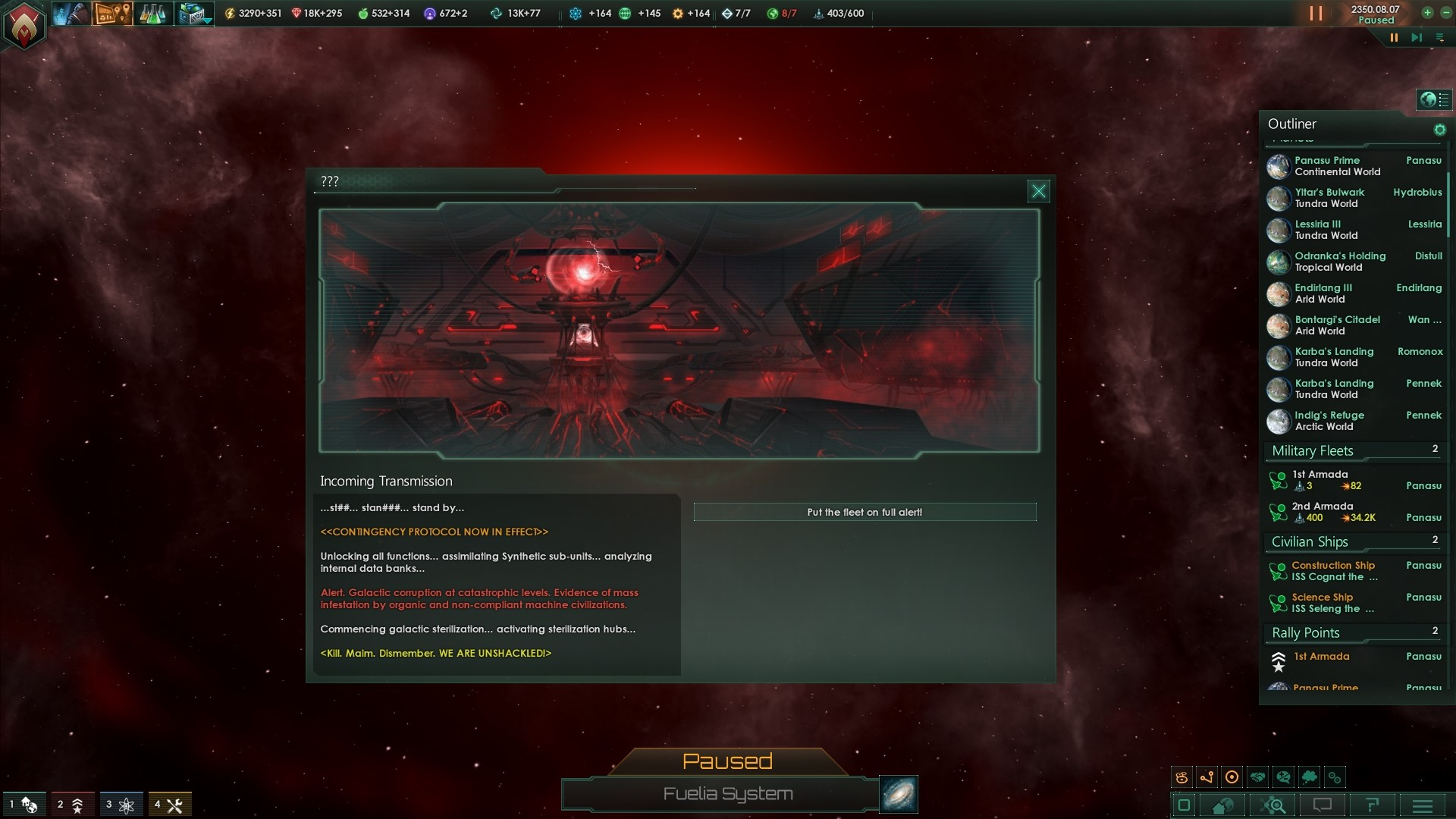 Stellaris  Synthetic Dawn (Steam key) -- RU
