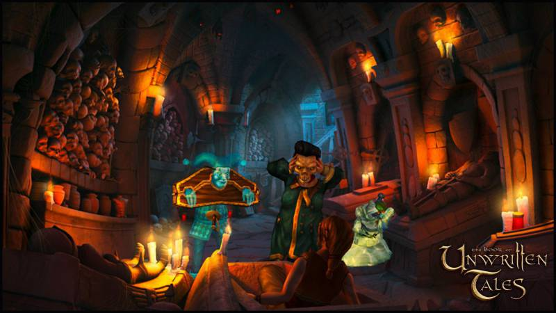 The Book of Unwritten Tales Digital Deluxe Steam -- RU