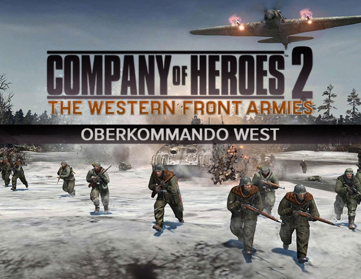 CoH 2 - The Western Front Armies: Oberkomm Steam -- RU
