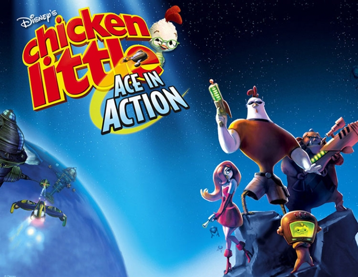 Disneys Chicken Little Ace in Action -- Region free