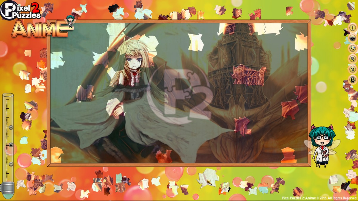 Pixel Puzzles 2  Anime (steam key) -- RU