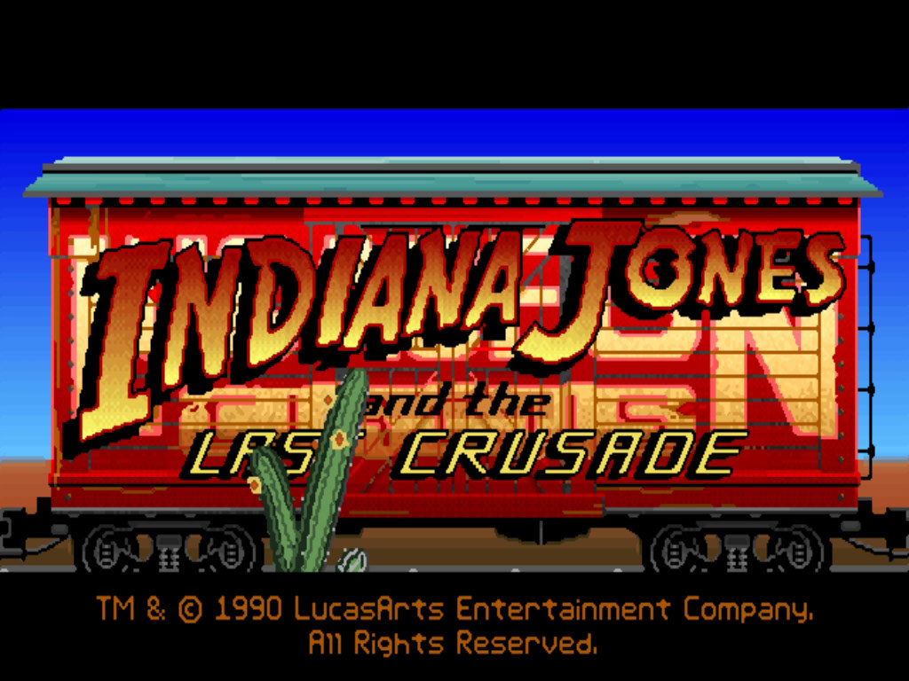 Indiana Jones and the Last Crusade (steam key) -- RU