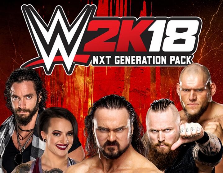 WWE 2K18 NXT Generation Pack (steam key) -- RU