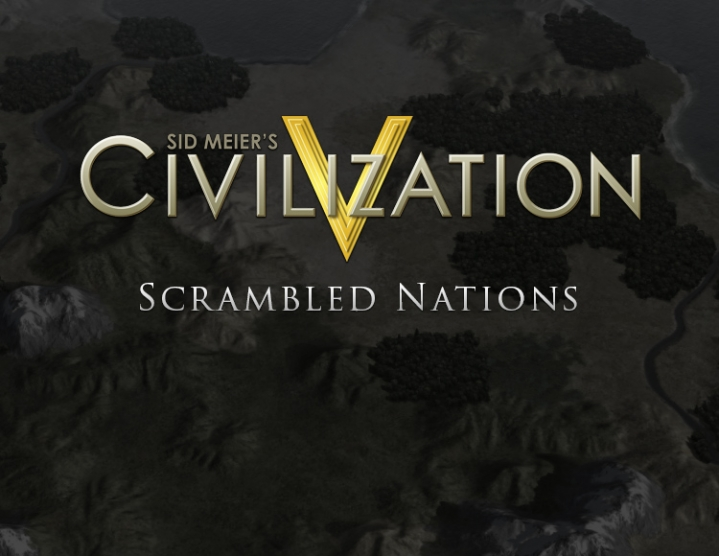 Civilization V Scrambled Nations Map Pack Steam -- RU