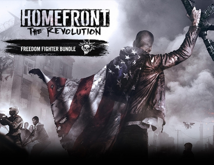 Homefront Revolution Freedom Fighter Steam -- RU