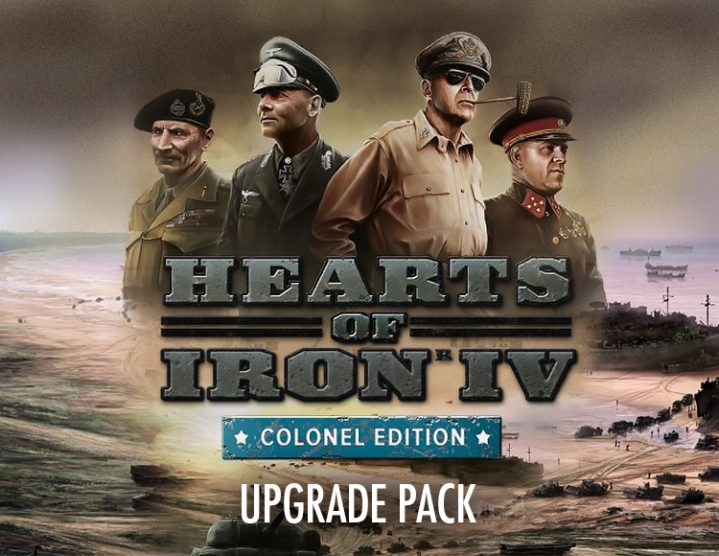 Hearts of Iron IV Colonel Edition Upgrade Steam -- RU