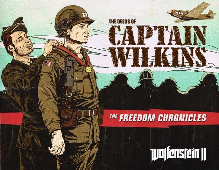 Wolfenstein II Deeds of Captain Wilkins 3 Steam -- RU