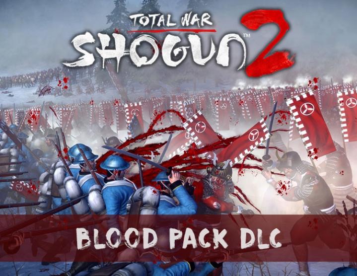 Купить Total War  Shogun 2  Blood Pack DLC (steam key) -- RU и скачать
