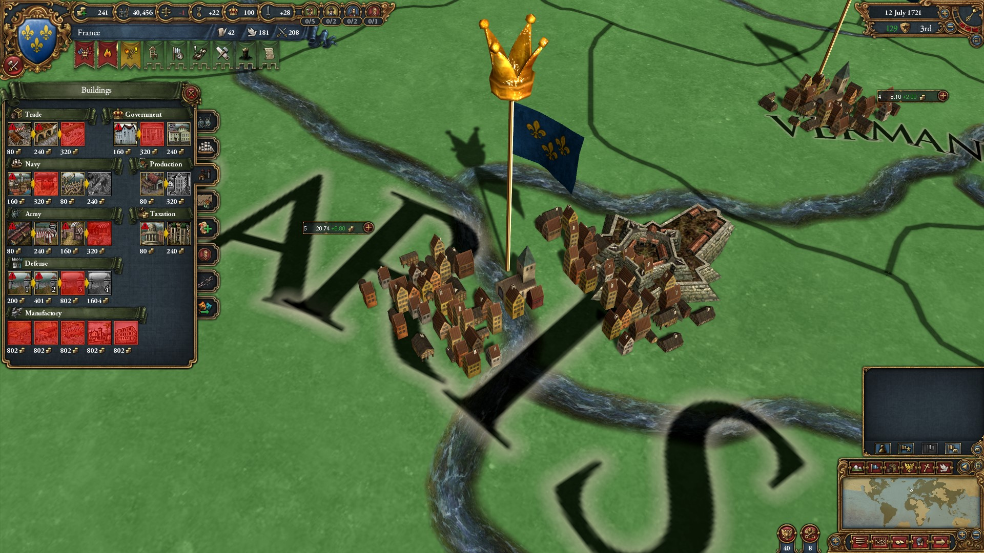 Europa Universalis IV Common Sense (steam key) -- RU