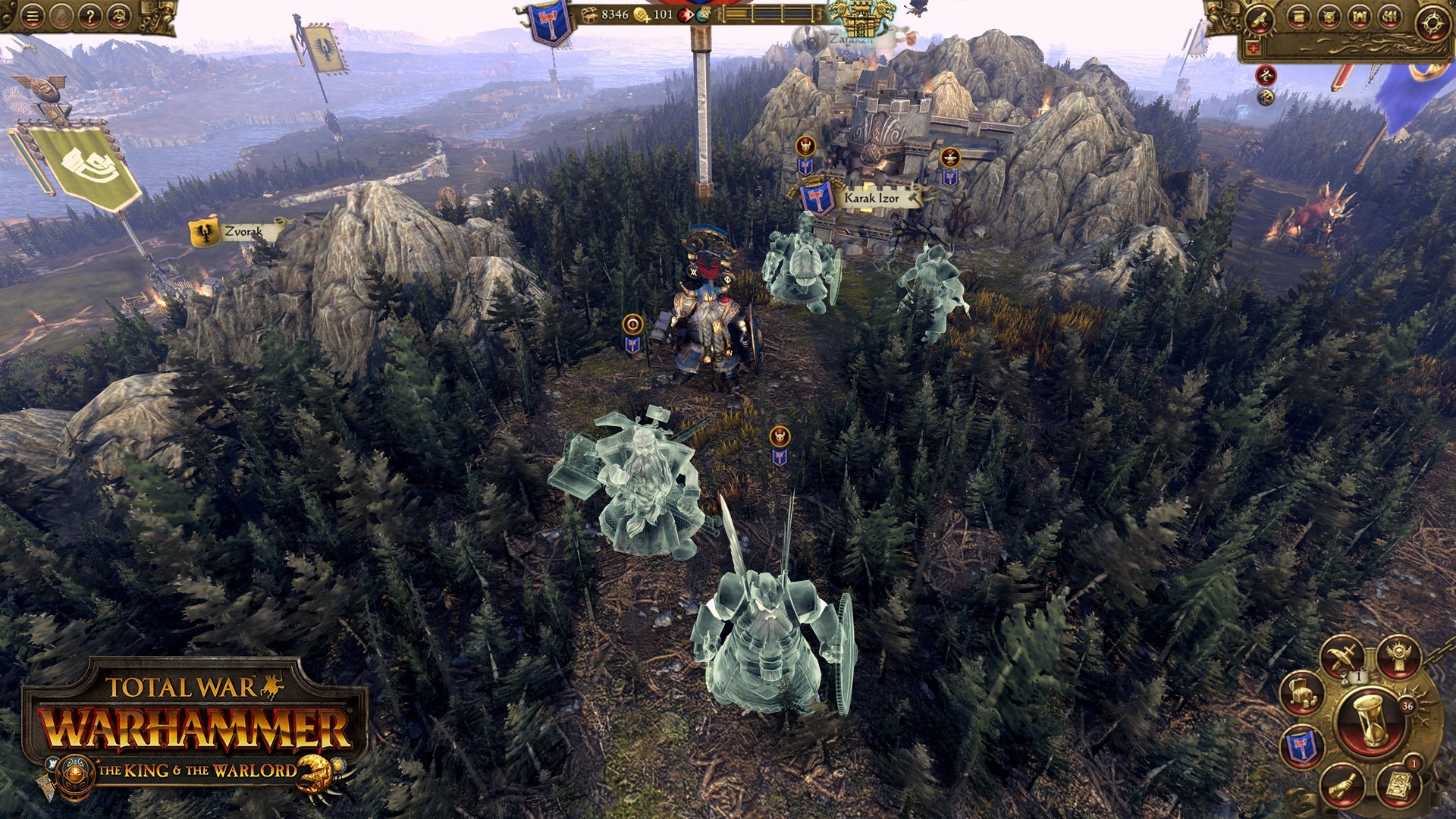 Total War WARHAMMER The King and Warlord Steam -- RU