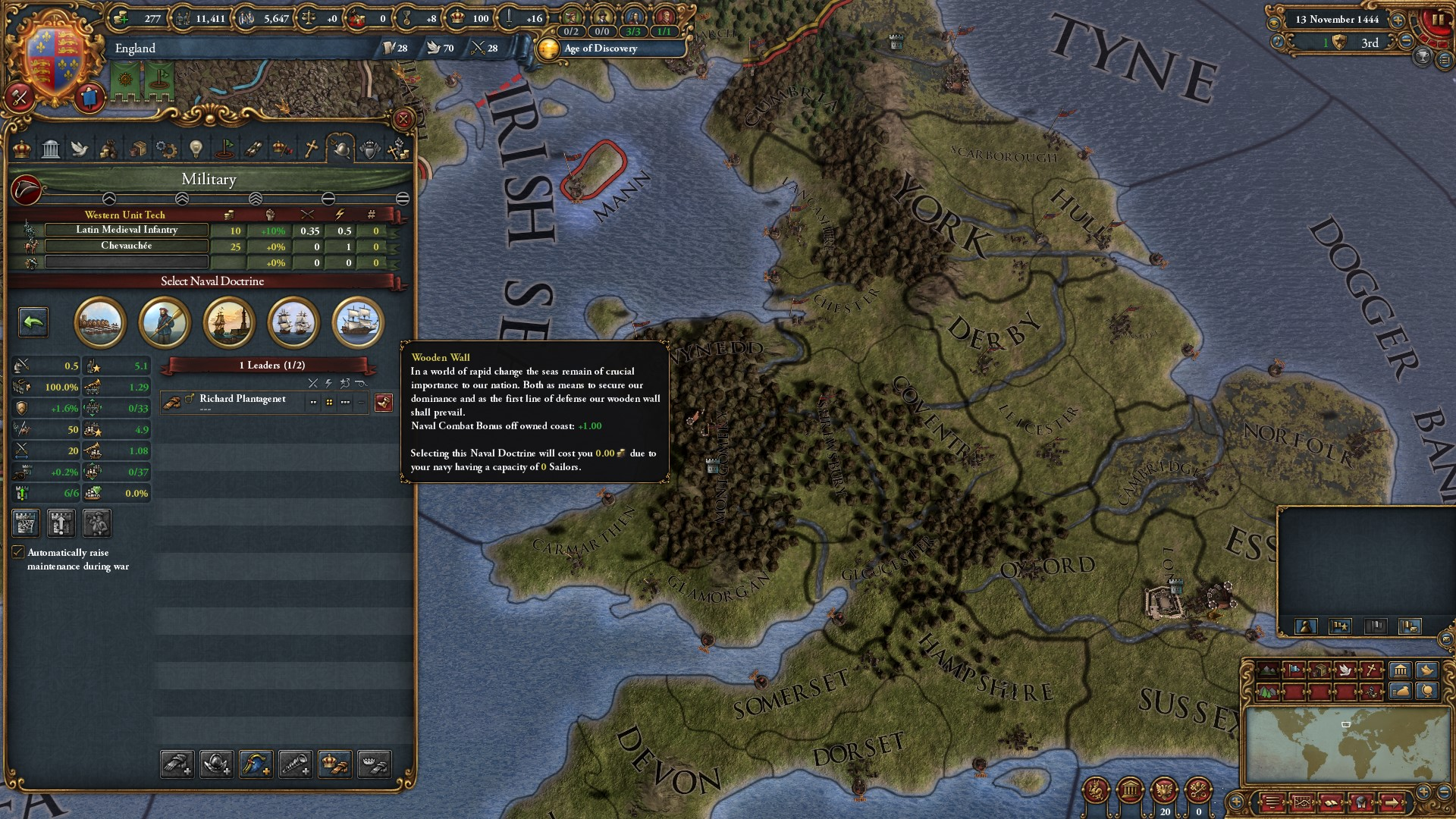 Europa Universalis IV Rule Britannia (Steam key) -- RU