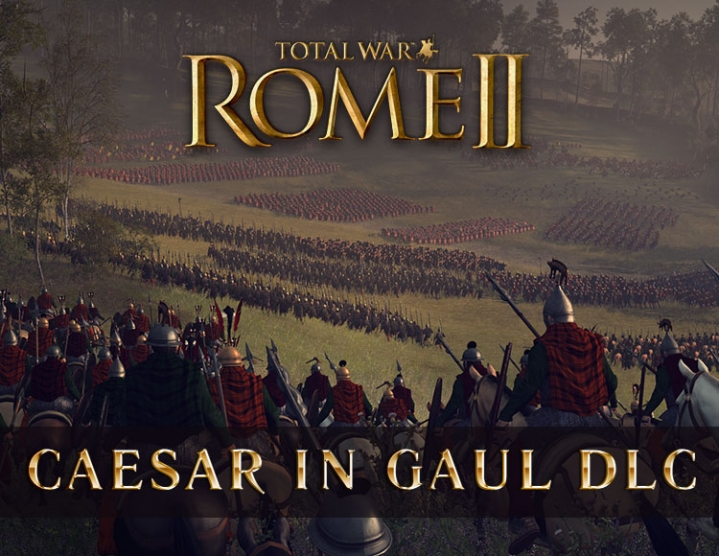 Total War Rome II Caesar in Gaul DLC (steam key) -- RU