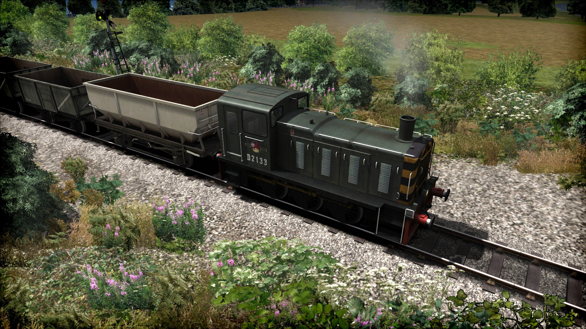 Train Simulator WSR Diesels Loco AddOn (steam) -- RU