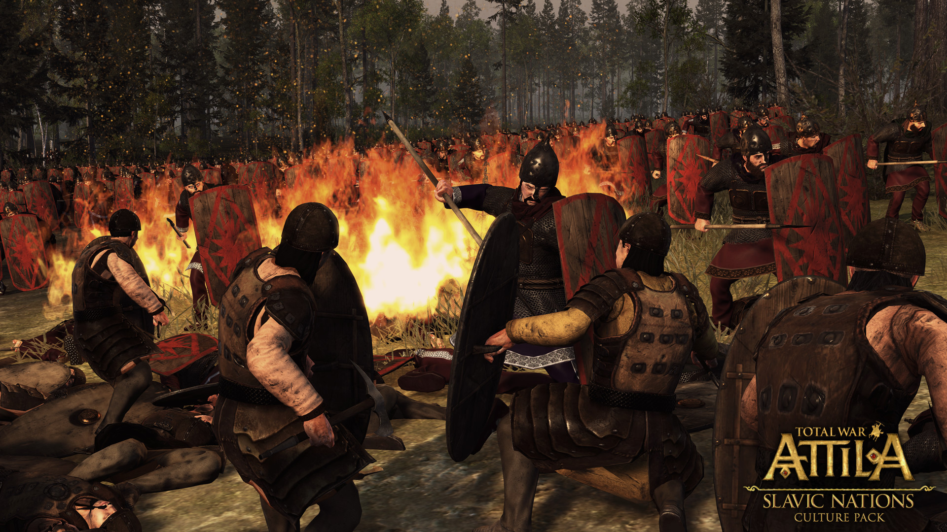 Total War Attila Slavic Nation Culture DLC Steam -- RU