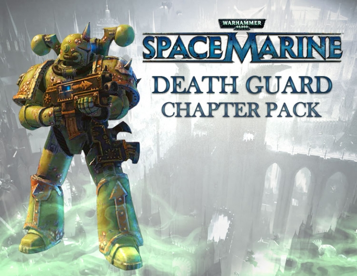 War. 40000 Space Marine Death Guard (Steam key) -- RU