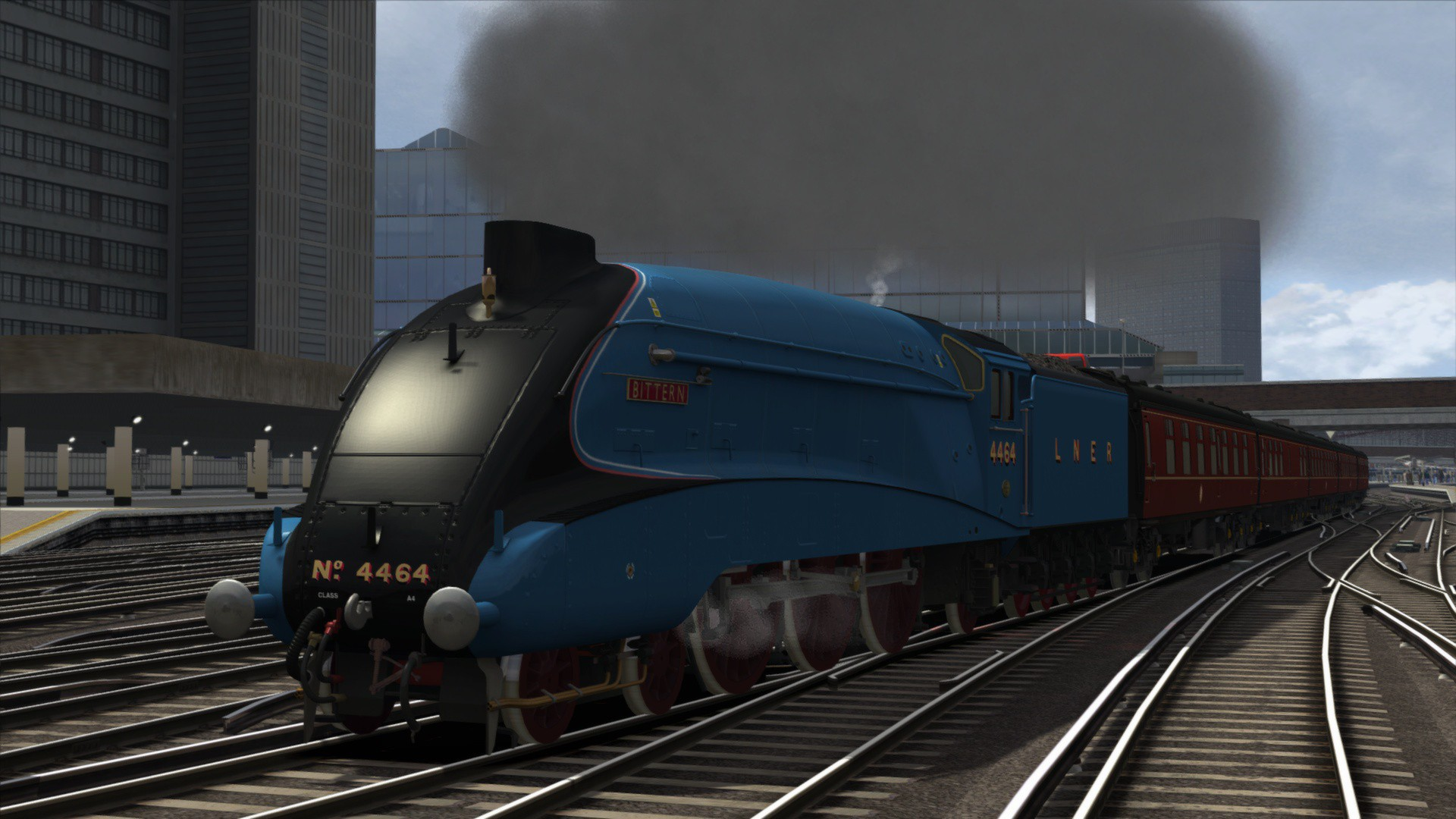 Train Simulator Class A4 Pacifics Loco Steam -- RU