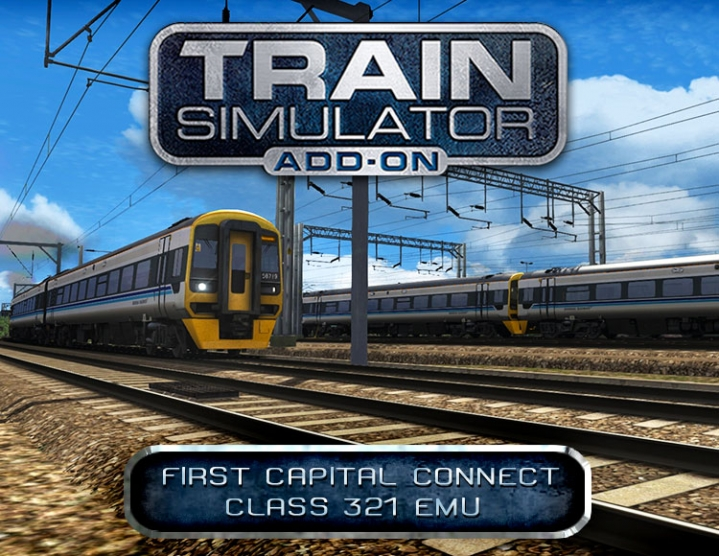 Train Simulator First Capital CC 321 EMU (steam) -- RU