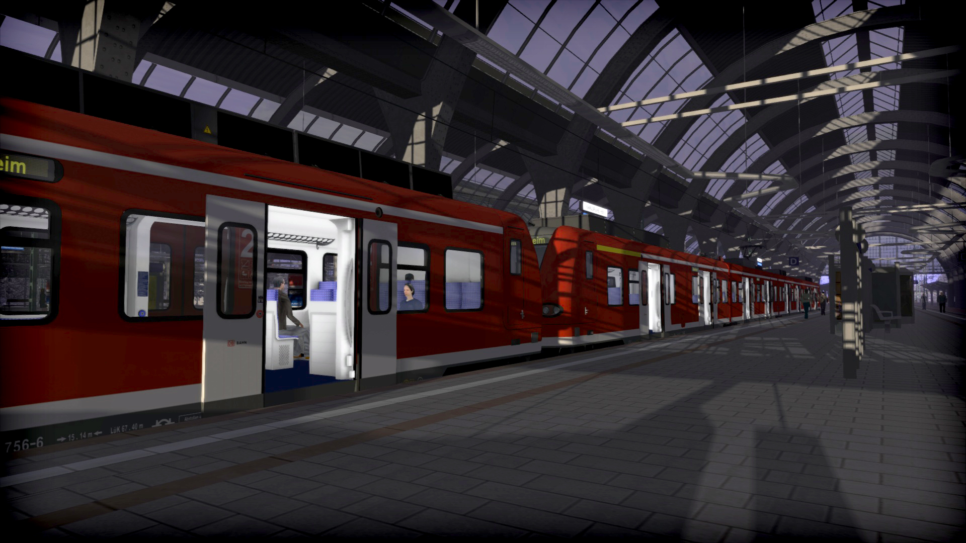 Train Simulator Rhine Mannheim Karlsruhe Steam -- RU