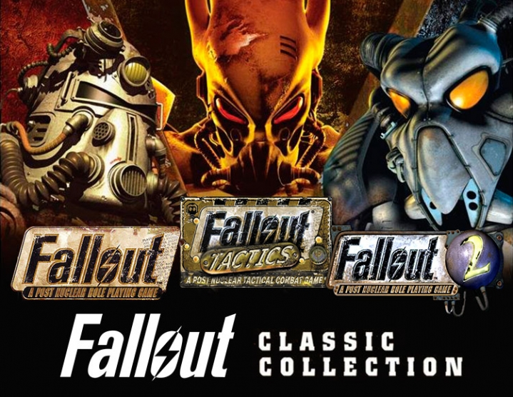 Fallout Classic Collection (Steam key) -- Region free
