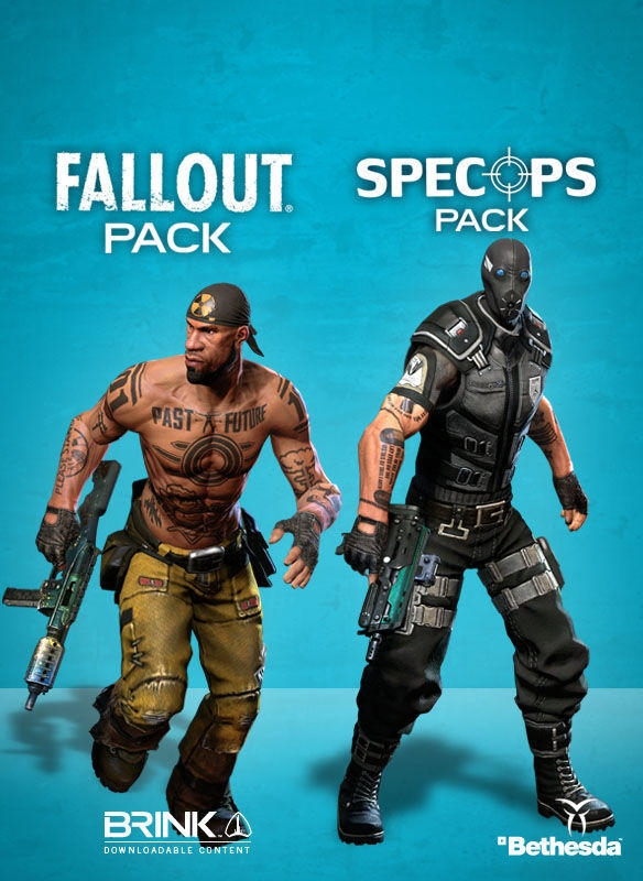 BRINK Fallout SpecOps Combo Pack (Steam key) -- RU