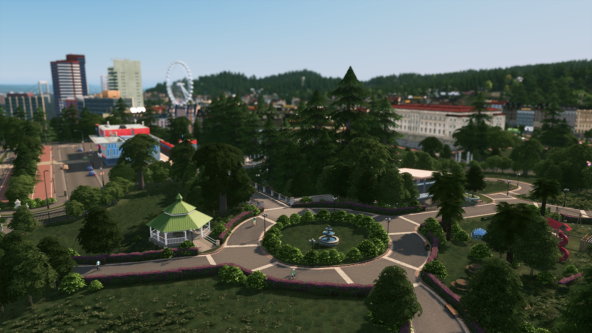 Cities Skylines Parklife (Steam key) -- RU