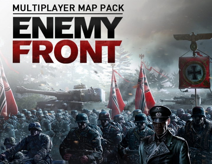 Enemy Front Multiplayer Map Pack (steam key) -- RU