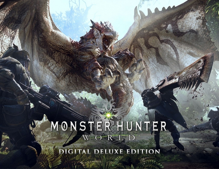 MONSTER HUNTER WORLD Digital Deluxe (steam key) -- RU