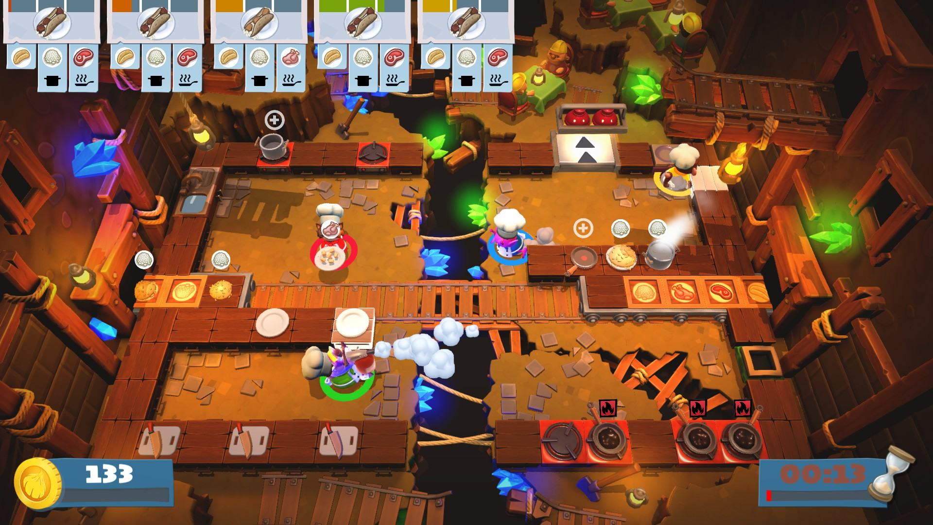 Overcooked 2 (Steam key) -- RU