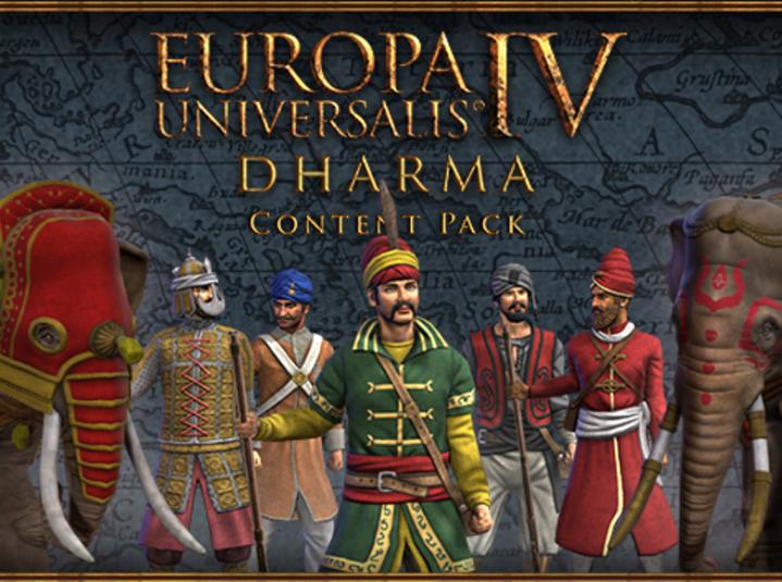 Europa Universalis IV Dharma Content Pack Steam -- RU