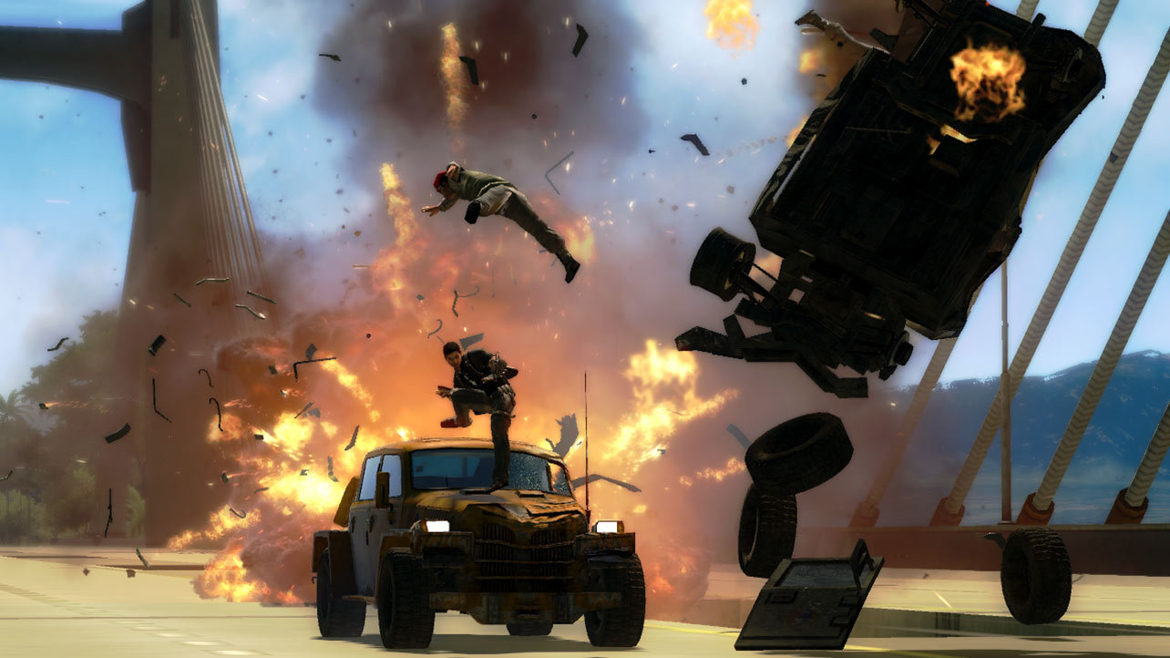 Just Cause 2 (Steam key) -- RU