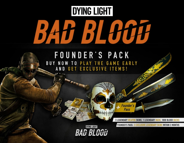 Dying Light Bad Blood Founders Pack -- RU