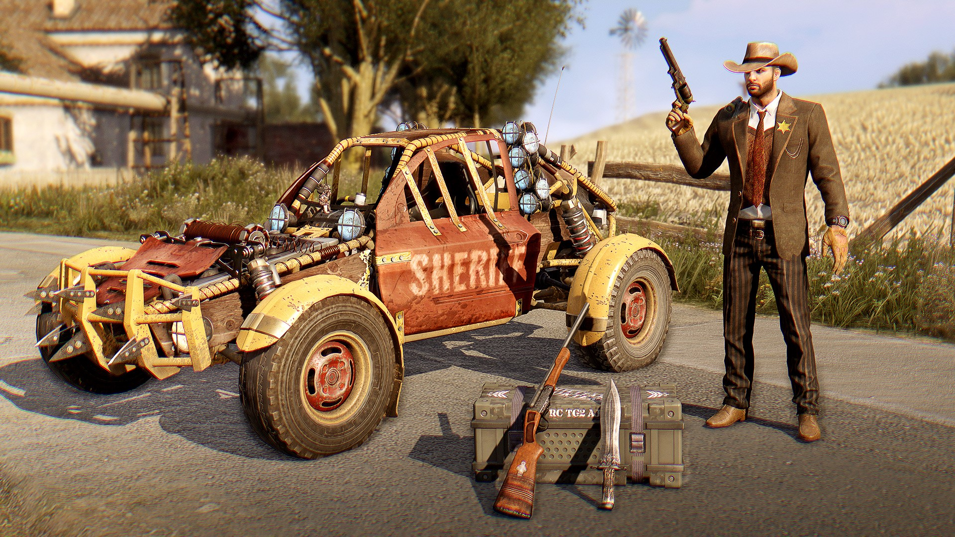 Dying Light Vintage Gunslinger -- RU