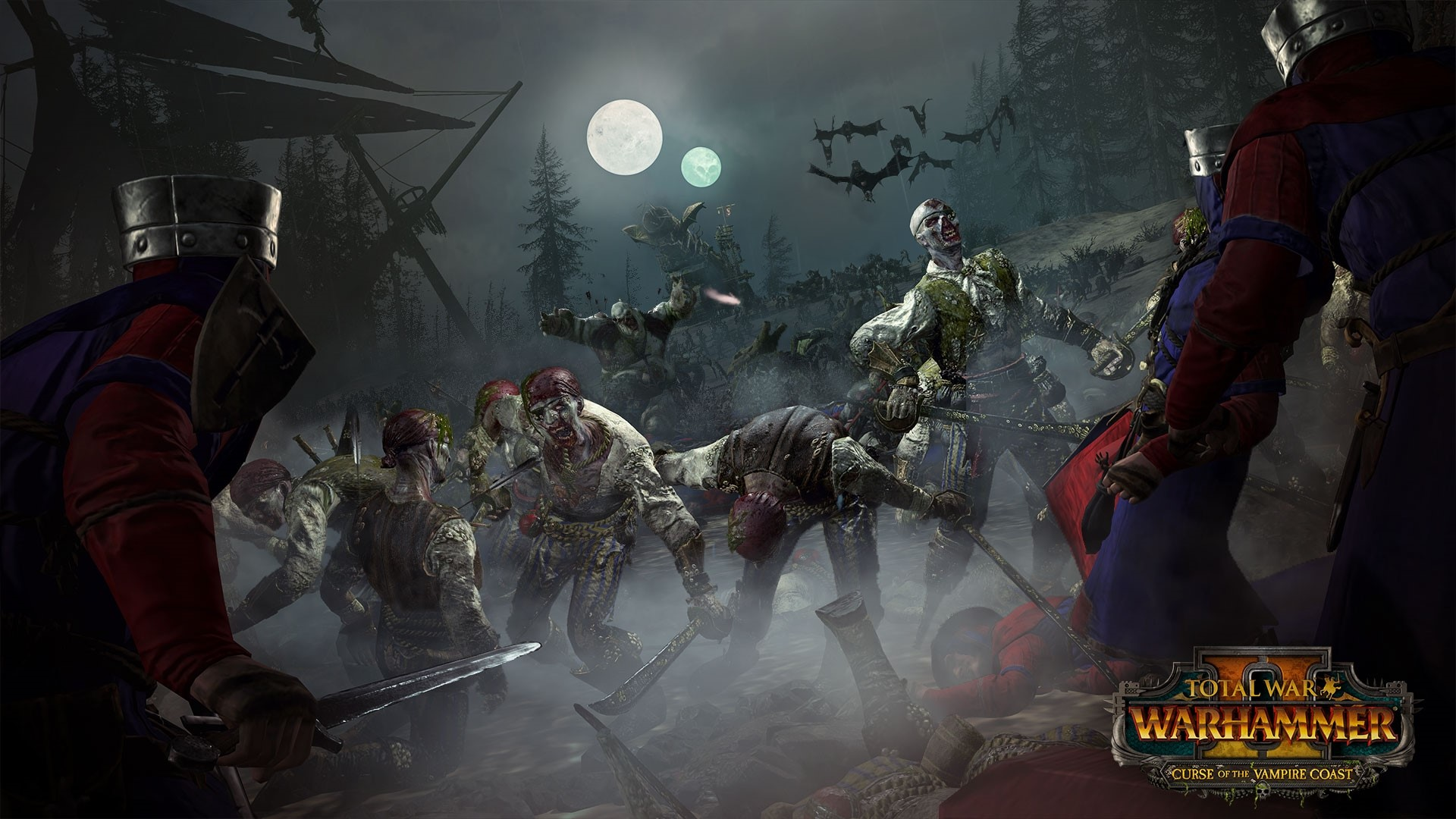 Total War WARHAMMER II Curse of Vampire Coast -- RU