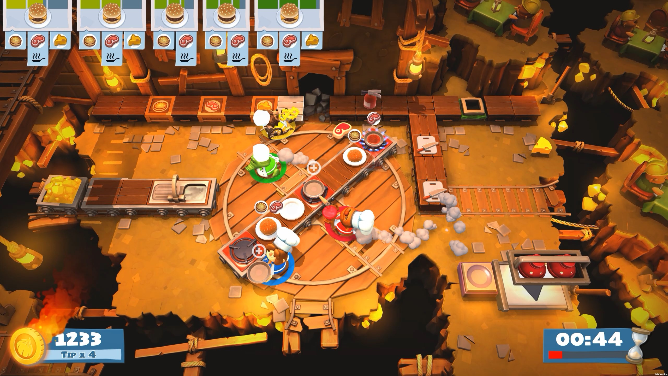 Overcooked 2  Too Many Cooks (Steam) -- Region free