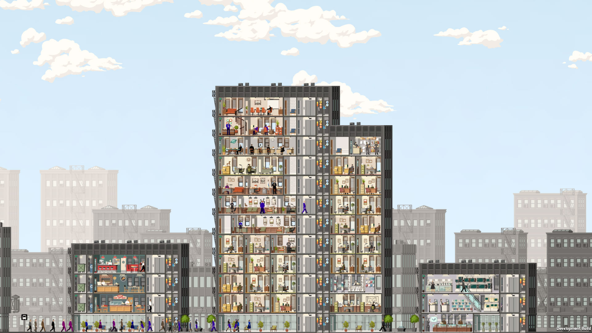 Project Highrise (Steam key) -- RU
