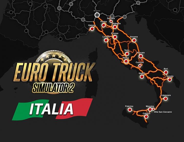 Euro Truck Simulator 2  Italia (Steam key) -- RU 2019