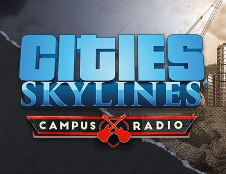 Cities Skylines  Campus Radio (steam key) -- RU