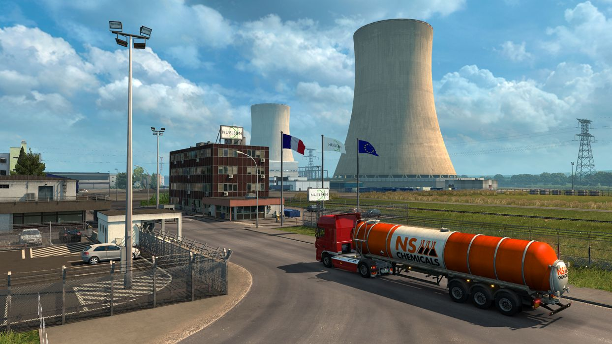 Euro Truck Simulator 2  Vive la France (steam) -- RU