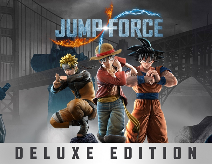 Jump Force Deluxe Edition (steam key) -- RU