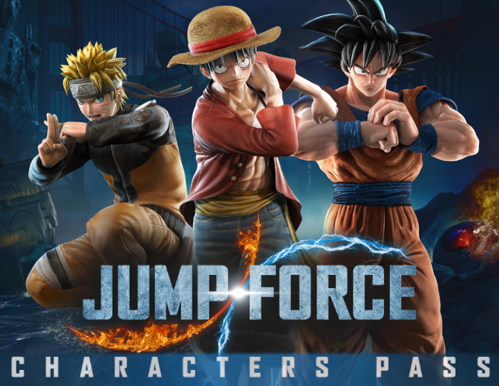 Jump Force Characters Pass (steam key) -- RU